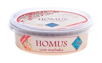 Homus com matbuka - Linha Saj
