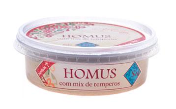 Homus com mix de temperos - Linha Saj